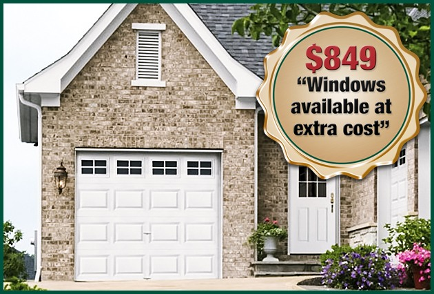 Perfect $849 Garage Door Special