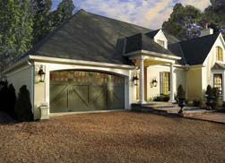 Wood-Composite Garage Door